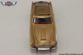 Corgi Toys 261 James Bond Aston Martin DB5; First Issue, with spare