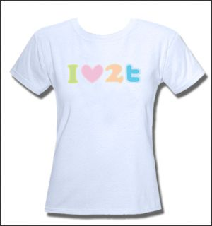 Twitter Lover Tweet Ladies T Shirt XS S M L XL New Tags