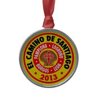 El Camino De Santiago 2013 Ornaments
