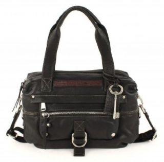 damen leder Handtaschen FOSSIL WOMEN BAG WOMAN GEARY LTHR CONV STCHL