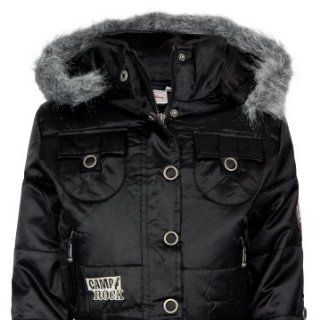 Disney Camp Rock H09F1446 Kinder Winterjacke Blousson, schwarz