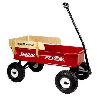RADIO FLYER Big Red ATW 180W Bollerwagen/Handwagen mit Luftbereifung