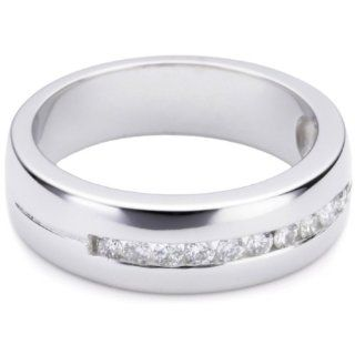 Bella Donna Damen Ring 585 Weißgold 10 Diamanten 52 636606