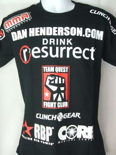 Dan Henderson UFC 75 Clinch Gear MMA T shirt NEW