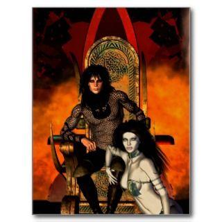 Love Knows No Bounds fantasy postcard