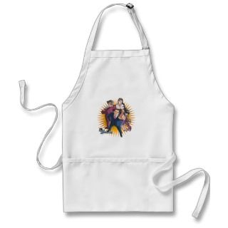 Phoenix Wright Key Art Apron