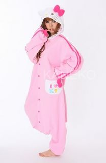 Sanrio Hello Kitty Costume Kigurumi Japanese pajamas halloween
