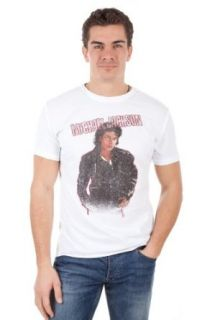 Amplified Herren T Shirt MICHAEL JACKSON BAD White AV201 BAD