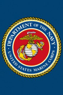 United States Marine Corps Seal Print Poster Poster