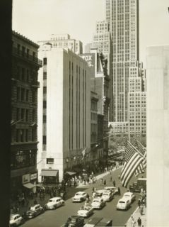 Busy Street in New York City Photographic Print by George Marks