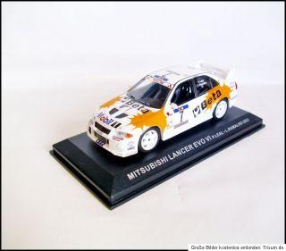 Mitsubishi Lancer EVO VI Rally Portugal 2003 P.Leal # Ixo 143