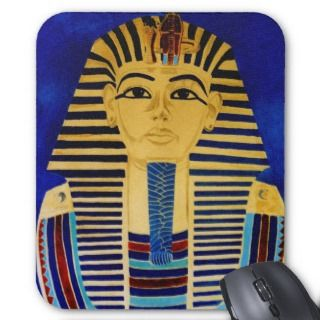 King Tut Tutankhamun Ancient Egypt Art MousePad