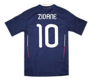 Adidas Frankreich Zidane Home Trikot FFF France JSY SS Zinedine