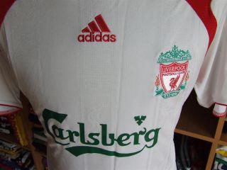 Trikot FC Liverpool 2007/08 (M) Auswärts Camiseta Shirt Adidas Jersey