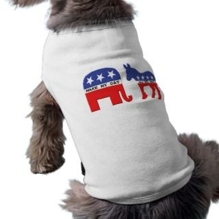 Difference Between Republicans and Democrats Funny Dog Tee