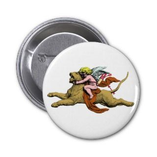 Eros rides lion rides lion pins