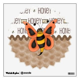 Country Honey Bee Room Decals