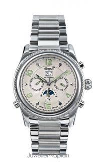 Automatic Herren Uhr JACKSON IN 1213 SLMB Edelstahl Armband UVP 299