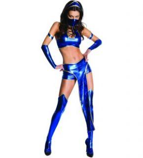Mortal Kombat Sexy Kitana Costume Adult Medium 10 14 *New*