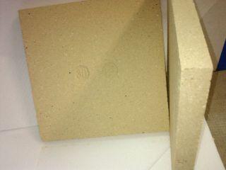 4x Schamotteplatten Schamottsteine 300x300x30mm gewicht 5,75kg