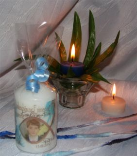 ICHTHYS FISCH Konfirmation Geschenk Kerze Danksagung