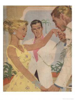 Charming Ladies Man Posters