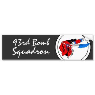 93rd BOMB SQUADRON USAF Bumper Sticker
