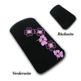 sw mobile shop Handy Tasche   Hülle in schwarz mit