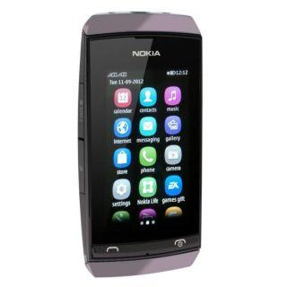 Nokia Asha 305 grau Dual SIM Handy ohne Vertrag Touchscreen 2MP Kamera
