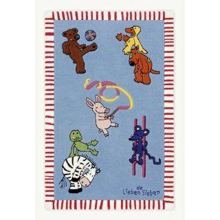 Boeing Carpet 150 x 220 cm Die lieben Sieben  multicolour LS 2930 01