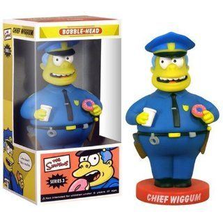 The Simpsons Simpsons Wackelfigur Chief Wiggum Spielzeug
