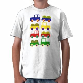 Colorful Farm Tractors Shirt