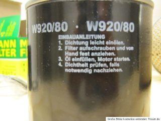 IHC Filter Kit von Mann Luftfilter,Motorölfilter & 2 Kraftstofffilter