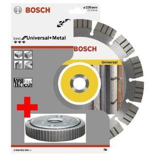 Bosch Diamanttrennscheibe 230 mm Universal+Metal inklusive SDS Clic