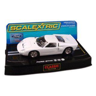 Scalextric C2473 Ford GT40 MKII Plain White Spielzeug