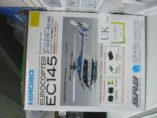 Hirobo S.R.B Super Scale Series ocoper EC145 pain POLICE ARF