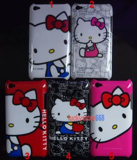 Hello Kitty Hard Back Skin Case Cover for iPod Touch iTouch 4G 4th