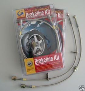 Stahlflex Bremsleitungen Mazda 323 GTR ´92 ´94