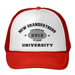 New Grandfather 2012 Hats