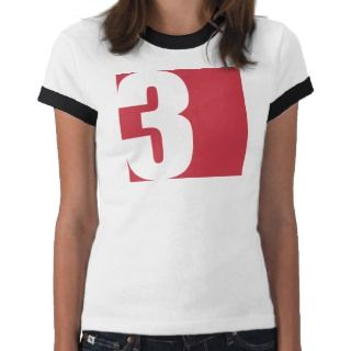 Square No. 3 Graphic T Shirts