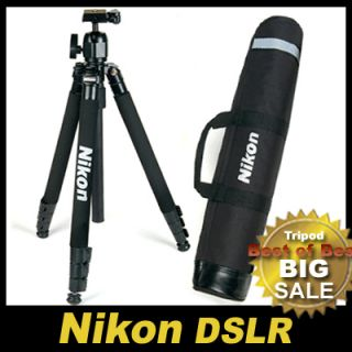 Nikon DSLR SLR Camera Tripod 65+ Ball Head + Bag ★Worldwide