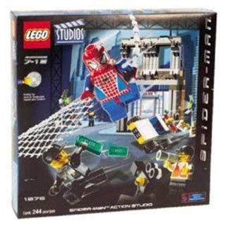LEGO 1376   Spider Man Action Studio, 244 Teile Spielzeug