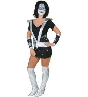 KISS Sexy Spaceman Adult Womens Costume Medium *New*
