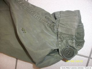51 Fishtail Parka Shell Orig.US Army Vietnam,Gr. Small guter Zustand