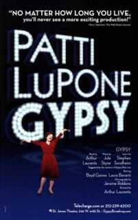 Patti Lupone Gypsy   Broadway Poster Masterprint