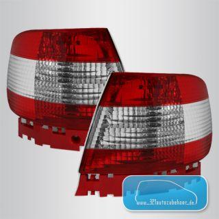 AUDI A4 B5 Limo 95 00 Klarglas Rückleuchten Rücklichter rechts links