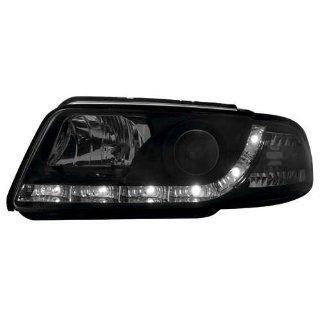 Dectane Audi A4 B5 Scheinwerfer Set Dayline schwarz Auto
