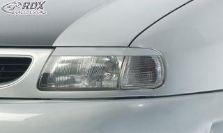 RDX Scheinwerferblenden Seat Ibiza 6K Böser Blick ABS Blenden Spoiler