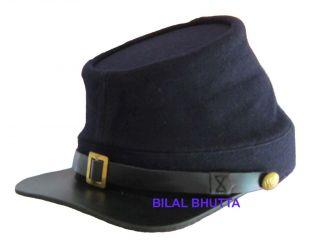 Mütze US blau ACW Käpi Civil War Hat Kepi (Grösse XL)   Repro