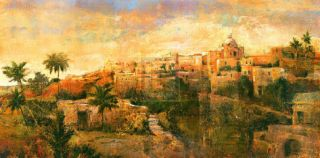 North African VIsta Print by P. Patrick